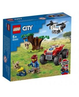 60300 LEGO CITY QUAD RATOWNIKÓW DZIKICH ZWIERZĄT