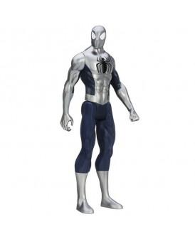 HASBRO MARVEL FIGURKA SPIDER-MAN SREBRNY 30 CM