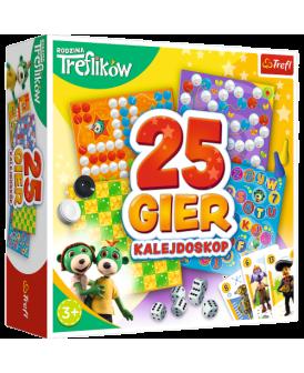 TREFL GRA KALEJDOSKOP 25 GIER TREFLIKI