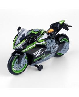 FLOTA MIEJSKA MOTOCYKL SPORTOWY ZIELONY