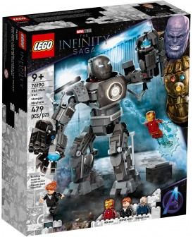 76190 LEGO SUPER HERO IRON MAN ZADYMA Z IRON MONGE