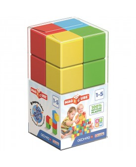 GEOMAG MAGICUBE FULL COLLOR RECYCLED CRISTAL 8 EL.