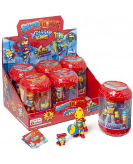 SUPER THINGS 8 KAZOOM KIDS + FIGURKA MIX