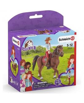 SCHLEICH 42539 HORSE CLUB HANNAH I CAYENNE