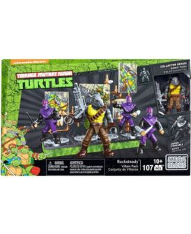 MEGA BLOCKS TURTLES FIGURKA BITEWNA ROCKSTEADY
