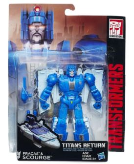 TRANSFORMERS GENERATIONS TITANS B7029 SCOURGE