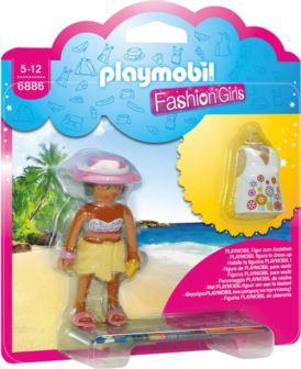 PLAYMOBIL 6886 FASHION GIRL - PLAŻA
