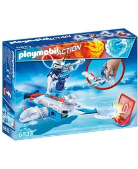 PLAYMOBIL 6833 ICEBOT Z WYRZUTNIĄ DYSKÓW