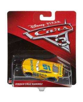 CARS AUTA CARS 3 DINOCO CRUZ RAMIREZ DXV29