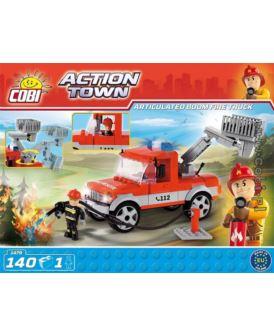 COBI ACTION TOWN ENGINE 13 BUCET TRUCK 140 EL.