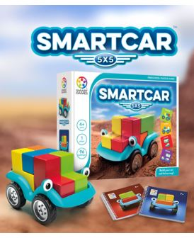 SMART GAMES SMARTCAR 5X5 DELUXE ENG