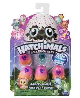 HATCHIMALS 4-PACK + BONUS S4 6043960