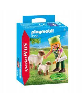 PLAYMOBIL 9356 FARMERKA Z OWIECZKAMI